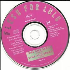 FLESH FOR LULU Time and Space w/ RARE ROCK REMIX  PROMO DJ CD single 1989 USA