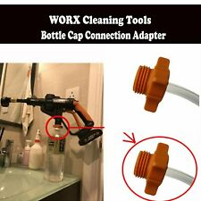 WORX Cleaning Tools Bottle Cap Connection Adapter+Draw Hose For Hydroshot