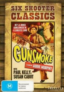 (WESTERN) (SIX SHOOTER CLASSIC GUNSMAOKE) NEW/SEALED #R4 PAL-FREE P/H AU
