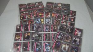 1991 T2 Terminator 2 Trading Card Set Lot 130+ Cards Plastic Excellent Condition