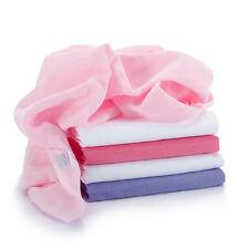 Mullwindeln / Mulltücher / Spucktücher - 5 Stück, 70x70 cm - Rosa (bunt, farbig)