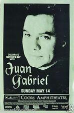JUAN GABRIEL 2000 SAN DIEGO CONCERT TOUR POSTER - Mariachi, Mexican Latin Pop