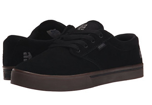 ETNIES 4101000323 544 JAMESON 2 ECO Mn's (M) Black/Black/Gum Suede Skate Shoes