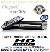 SKY PLUS +HD BOX AMSTRAD DRX890 **500GB****SLIMLINE BOX******BOX ONLY