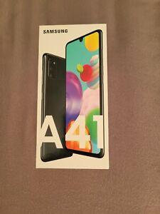 Samsung Galaxy A41 SM-A415F/DS - 64GB - Black (Unlocked) (Dual SIM) - BRAND NEW