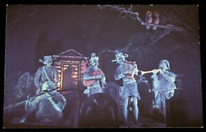 Disneyland 1969 / 1970's Haunted Mansion POSTCARD Phantom Five Band Walt Disney