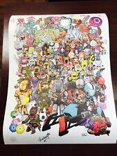 Destiny Characters Poster PAX West Prime 2016 EXCLUSIVE, 14 Developer Autographs