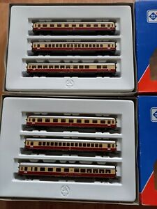 Roco H0 TEE Personenwagenset 44120 + 44121 DB Ep4