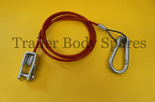 FREE UK Post - Breakaway Cable with Clevis Pin for Ifor Williams Trailers