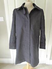 SANDRO PARIS Black Minimalist Winter Coat