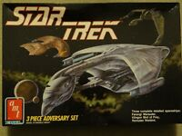 Star Trek Adversary Set Romulan Klingon Ferengi Model Kit -