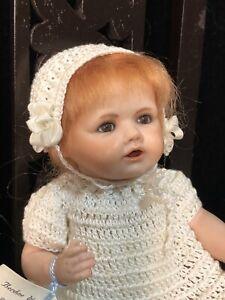 """Vintage Reproduction of Antique 6"""" Porcelain  Doll Kestner Hilda Berdine Wyffels"""