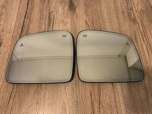 Jeep Grand Cherokee OEM LH RH mirror glass SET with dimming heating zone 10-17