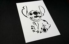 Disney Themed STITCH Reusable Mylar Stencil Wall Card Cake Mask Decoration Lilo