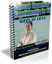 SPEAK SPANISH CONFIDENTLY IN 12 DAYS OR LESS PDF EBOOK FREE SHIPPING