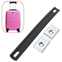 2cm Black Rubber+ Iron Replacement Luggage Suitcase Pull Carrying Handle Strap