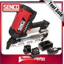 senco cordless clipped head gas framing nailer nail gun 50 90mm sgf40