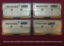 Memoria RAM HP per prodotti informatici da 4GB da 4 moduli