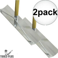 "Kraft Tool CC944 19-1/2"" x 4"" Gold StandardTM Aluminum Concrete Placer 2x New"