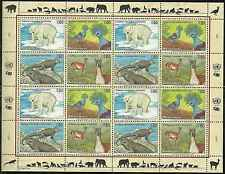 Timbres Animaux Nations Unies Genève F 325/8 ** année 1997 lot 4150