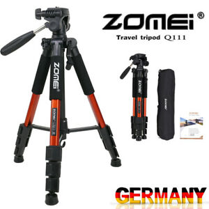 ZOMEI Q111 Stativ Kugelkopf Kamerastativ Fotostativ Tripod Stand für Canon Nikon