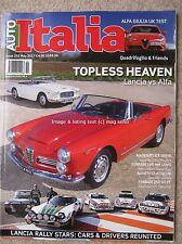 Auto Italia May 2017 Lancia Stratos Fulvia Rally 037 Delta S4 Integrale Flaminia