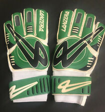 NEW Lanzera Men's Football Soccer Goalkeeper Gloves Green White Black Size 9
