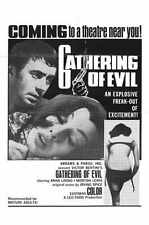 Gathering Of Evil Poster 01 Metal Sign A4 12x8 Aluminium