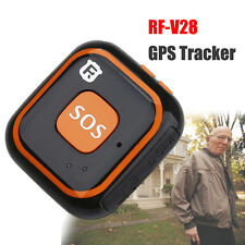 RF-V28 Mini GPS Tracking Finder Device Auto Car Pets Kids Tracker SOS for Elder