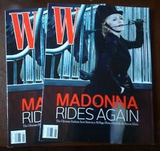 Madonna Rides Again W Magazine 2006 Brand New, Never Read, NO MAILING LABEL