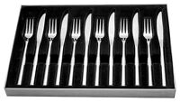 Stellar Rochester 12 Piece Knife Set Polished Stainless Steel Boxed Cutlery