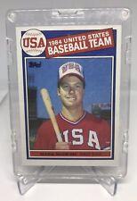 1985 Topps Mark McGwire #401 Baseball Card 1984 USA Baseball Team Rookie PSA?