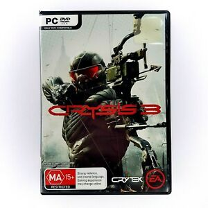 CRYSIS 3 - PC - 2013   First Person Shooter FPS Computer Game - Great Condition