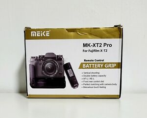 MEIKE MK-XT2 Pro With Remote Control Battery Grip For Fujifilm X-T2 Open Box