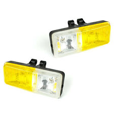 MANHATTAN YELLOW CLEAR DUAL FOG LIGHT DRIVING HEADLIGHTS FOR MIATA LIGHTS LAMP