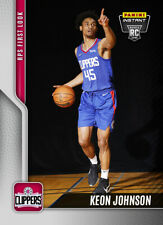 2021-22 Panini Instant NBA RPS First Look #20 Keon Johnson Clippers PRESALE