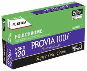 Fujifilm Provia F 100 120 5er Pack Farb-Negativfilme Fotografischer Film