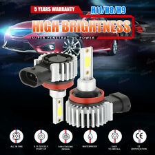 2020 H11 LED Headlight 6000K 2000W 300000LM Smart-Side Low Beam bulbs High Power