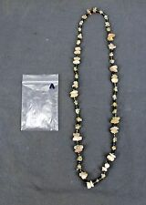 Handmade Natural Gem Stone Chip Necklace 32'' Rose Quarts Lot-A