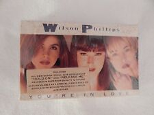 """Wilson Phillips """"You're In Love"""" Cassette Single! NEW! BEACH BOYS COLLECTORS!"""