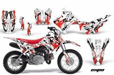 Dirt Bike Decal Graphic Kit Wrap For Honda CRF110 CRF 110 2013-2018 EXPO RED