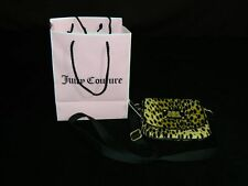 New with Tags Juicy Couture Brown Velour Cheetah Leopard Crossbody Messenger Bag