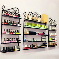 New Metal Wire Nail Polish Display Organizer Wall Rack Hold Up over 200 Bottles