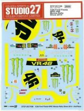 STUDIO27 1/24 Ford Fiesta WRC #46 Monza Rally Show 2014 for Belkits DC1106 Decal