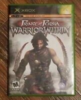 Prince of Persia Warrior Within Original Microsoft Xbox Complete