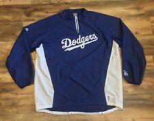 Los Angeles Dodgers Majestic MLB Baseball Pullover Dugout Wind Jacket Mens 3XLT