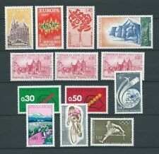 FRANCE - 1972 YT 1714 à 1724 - TIMBRES NEUFS** MNH LUXE