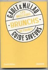 NEW BOOK GAULT & MILLAU THE MEILLEURS BRUNCHES FRANCE GUIDE FLAVORS 2013