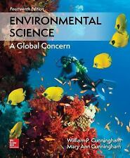 Environmental Science by Mary Ann Cunningham and William P. Cunningham (2017, Hardcover)