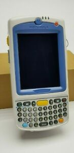 Used Symbol Motorola MC75A Wireless Barcode Scanner with new battery